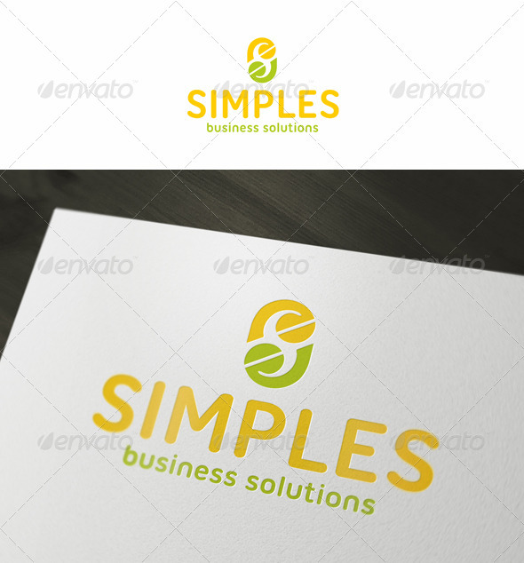 Simple Solutions Logo - Letters Logo Templates