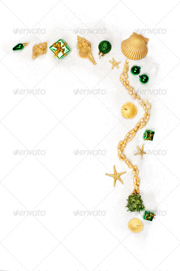 Sparkling Christmas ornaments - Stock Photo - Images