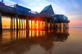 Old Orchard Beach pier at sunrise - PhotoDune Item for Sale