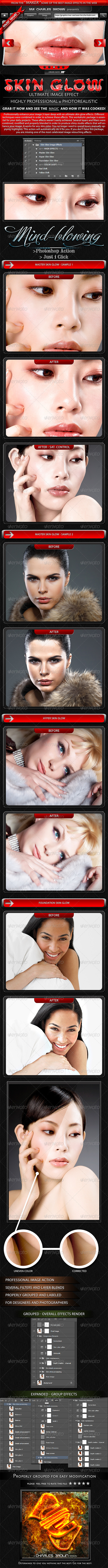 Skin Glow Image Effects - Photo Effects Actions