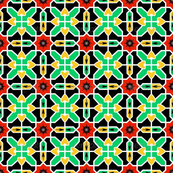 GraphicRiver Pattern in Islamic design 3368210