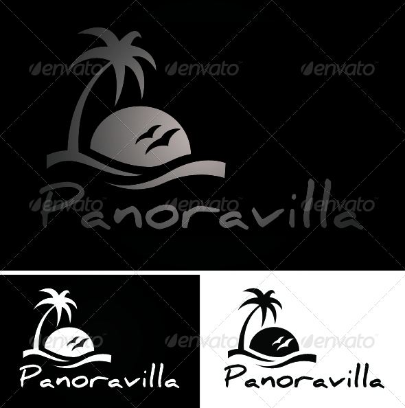 GraphicRiver Panoravilla Logo 3363433
