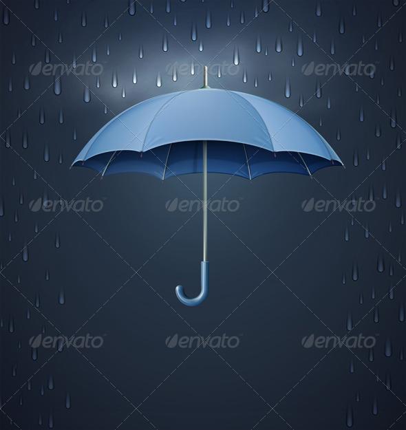 GraphicRiver Opened umbrella 3368514