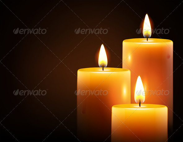 GraphicRiver Three candles 3368663