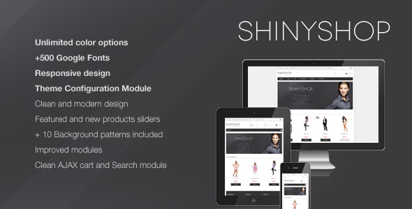 ShinyShop - Flexible Prestashop Theme