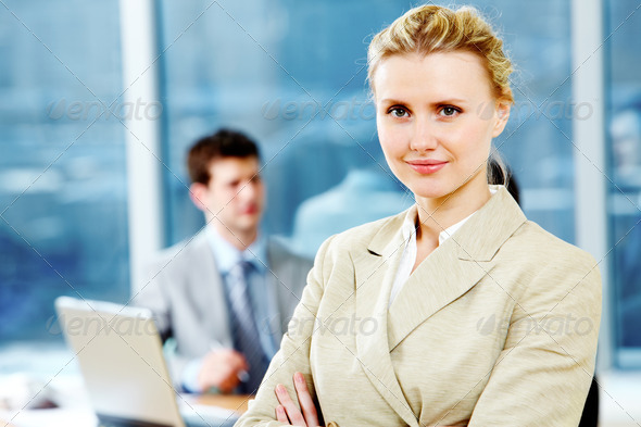 Business lady - Stock Photo - Images