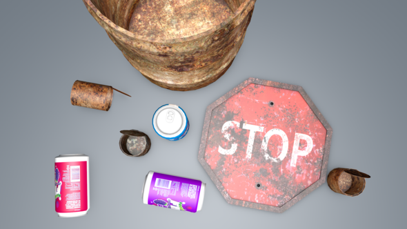 3DOcean Street Trash 3371792