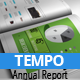 TEMPO - Annual Busines Report - GraphicRiver Item for Sale
