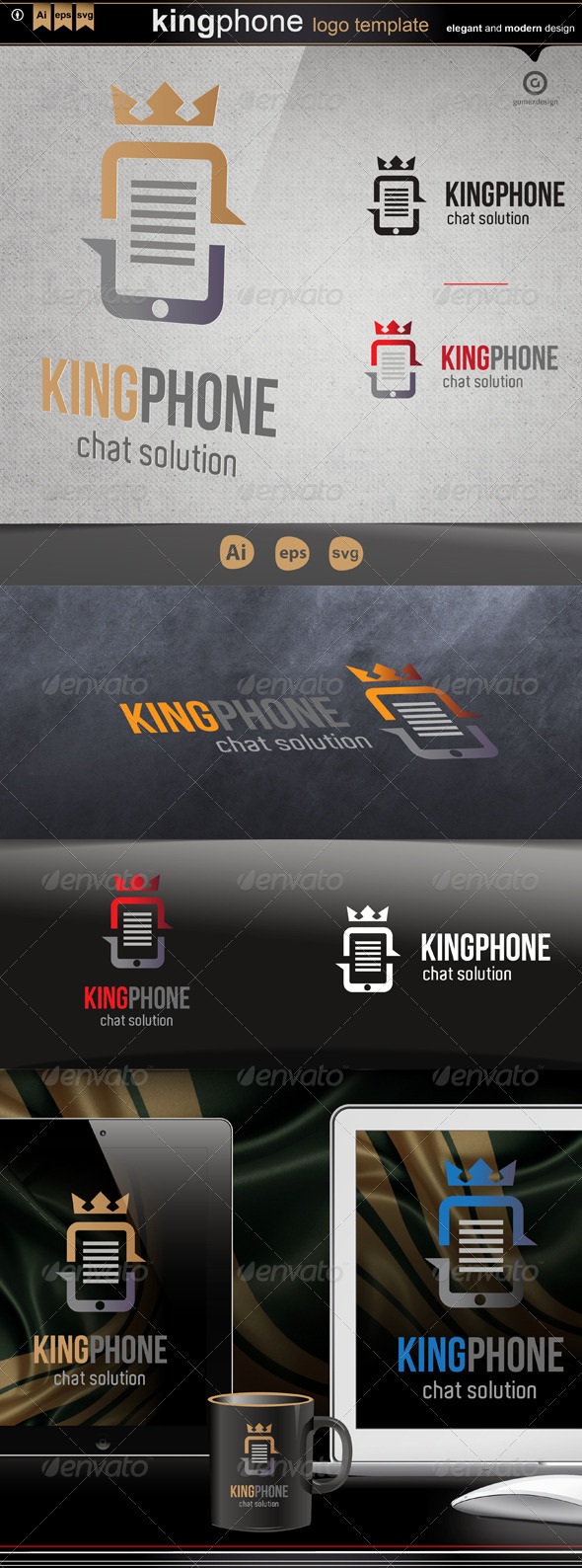 GraphicRiver King phone 3374518