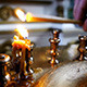 Candle Burning In The Church - VideoHive Item for Sale