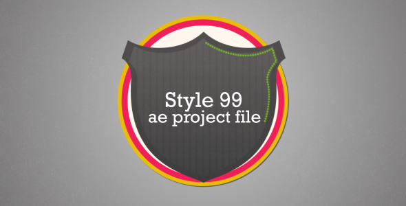 After Effects Project - VideoHive Style 99 3376086