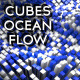 Cubes Ocean Flow / Blue & White - VideoHive Item for Sale