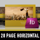 Exclusive Horizontal Brochure - GraphicRiver Item for Sale