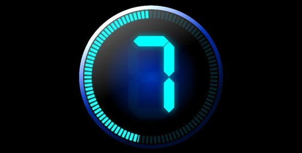 After Effects Project - VideoHive LCD Countdown After Effects Template 3363749