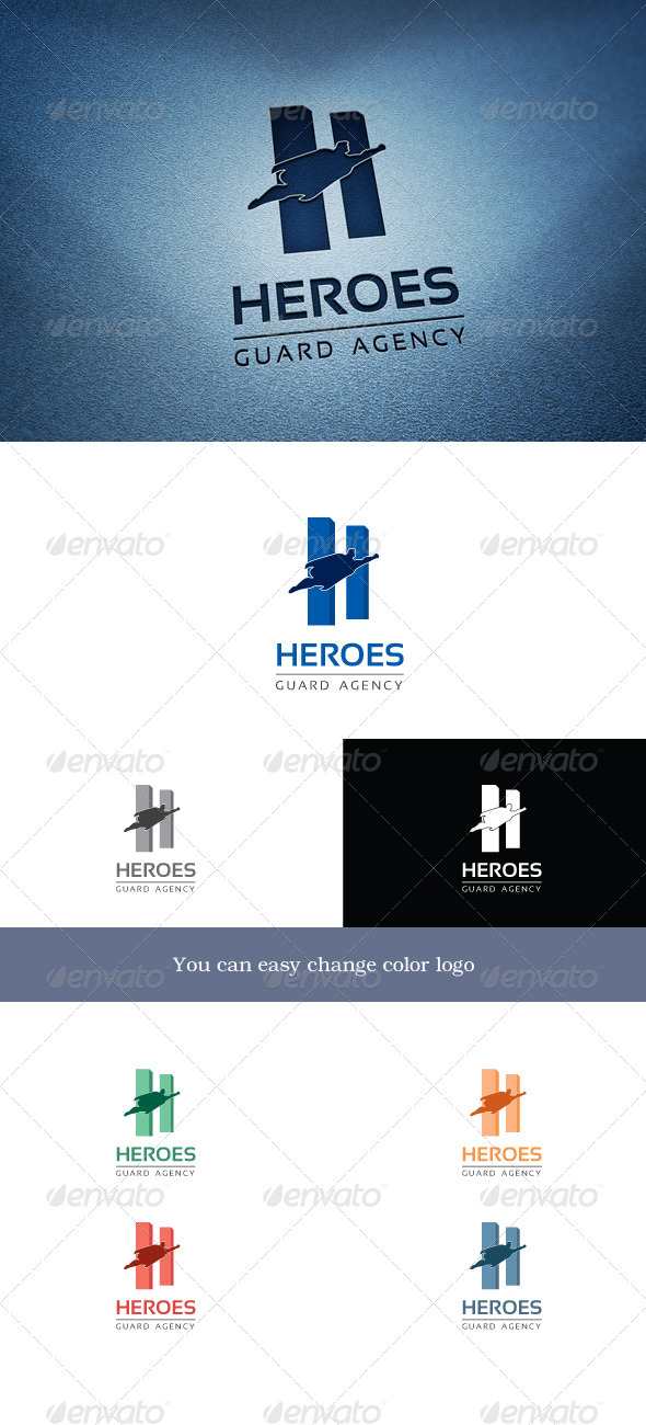 GraphicRiver Heroes 3370346