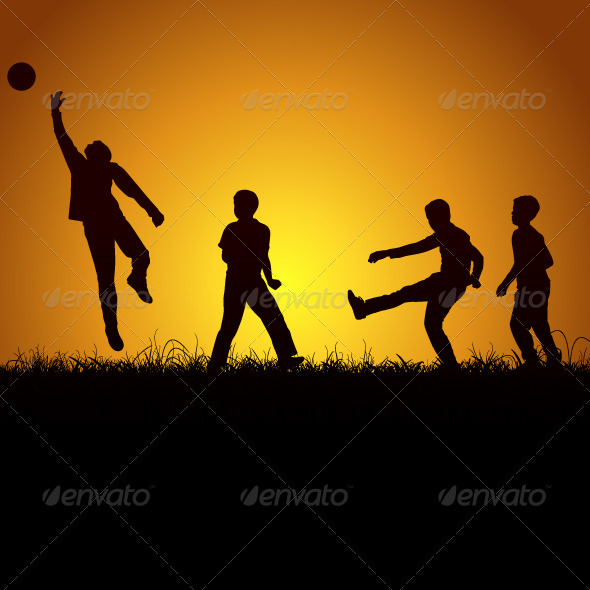 GraphicRiver Children And Sport 3331752