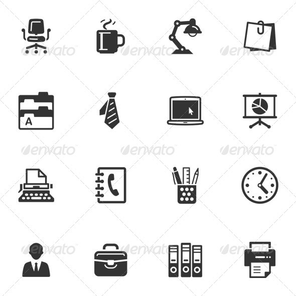 GraphicRiver Office Icons 3377720