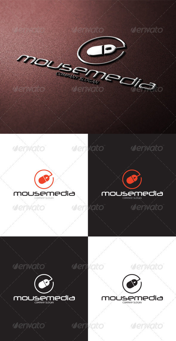 GraphicRiver Mouse Media Logo 3377777