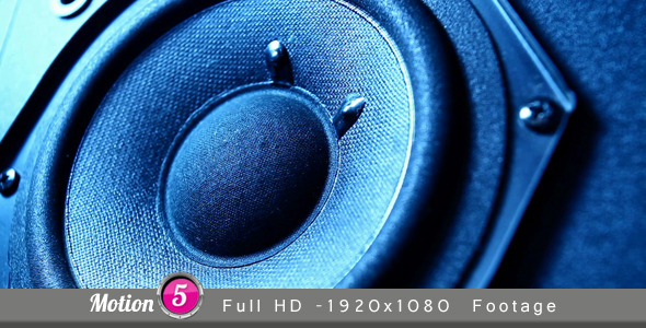 Speaker VideoHive Stock Footage  Technology 3377809