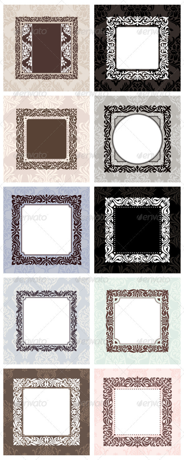 GraphicRiver Set Of Frames 3377857