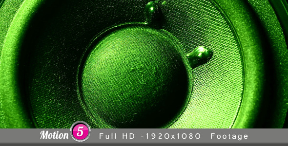 Speaker VideoHive Stock Footage  Technology 3378221
