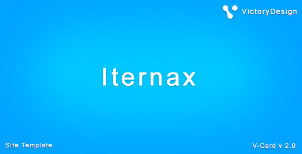 ThemeForest Iternax vCard 1944775