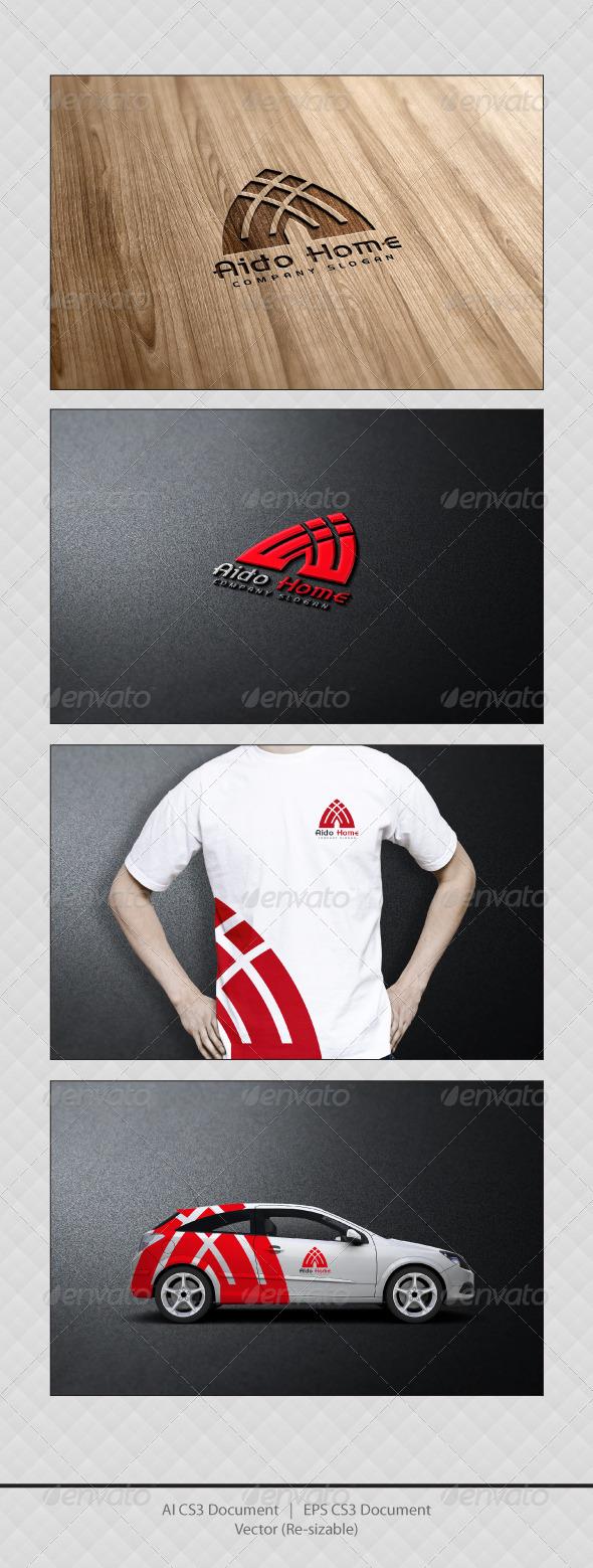 GraphicRiver Aido Home Logo Templates 3364392