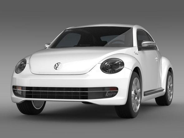 3DOcean VW Beetle Fender Edition 2012 3383966