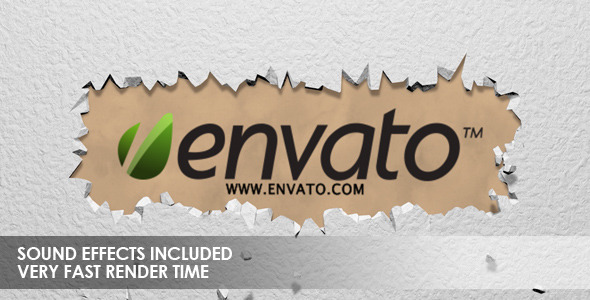 After Effects Project - VideoHive Crumble Logo Reveal 3365980