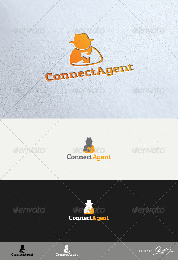 Connect Agent Logo - Humans Logo Templates