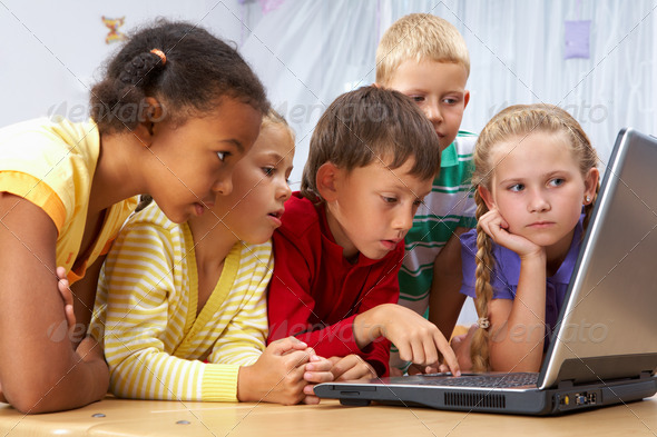 Little users - Stock Photo - Images
