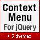 jQuery Context Menu Plugin - CodeCanyon Item for Sale