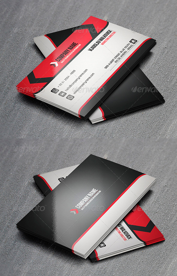 Corporate Business Card 14  - Corporate Business Cards