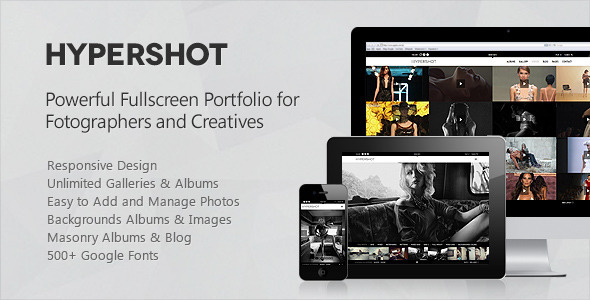 ThemeForest Hypershot Photography Portfolio WordPress Theme 3391790