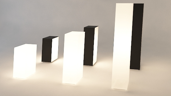 3DOcean modern light set 09 3392103