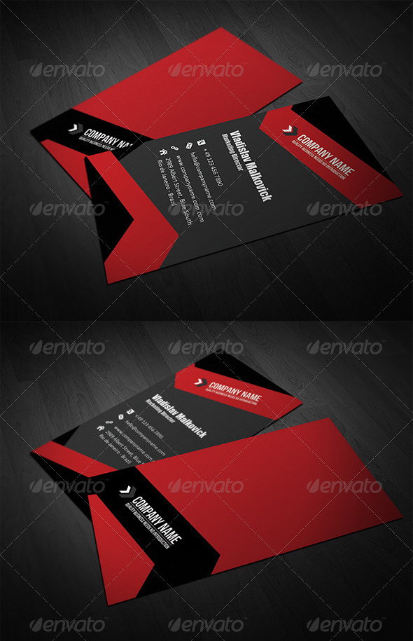 GraphicRiver Corporate Business Card 15 3392217