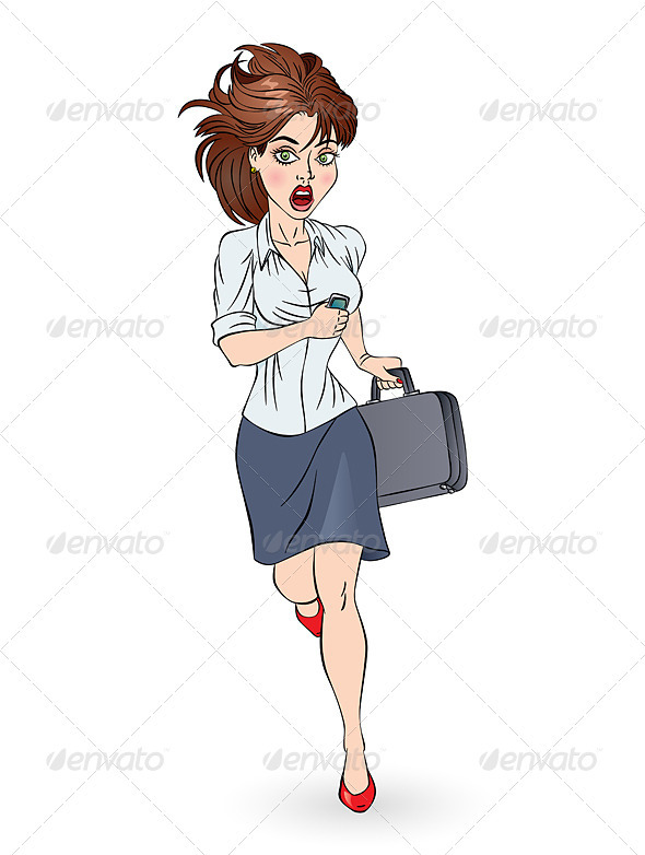 GraphicRiver Business woman 3393965