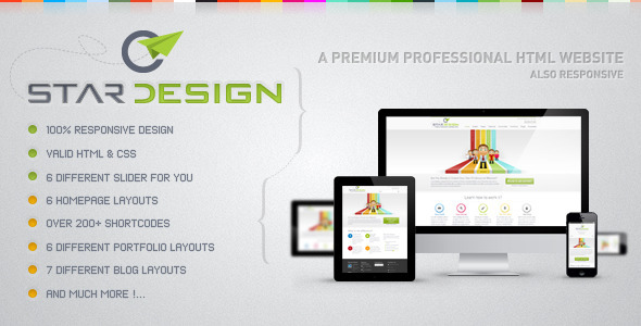 ThemeForest CStar Design Web Site 3375685