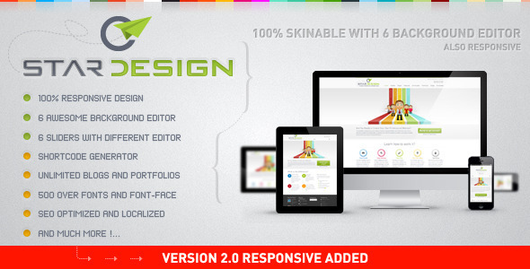ThemeForest CStar Design WordPress Theme 2490278