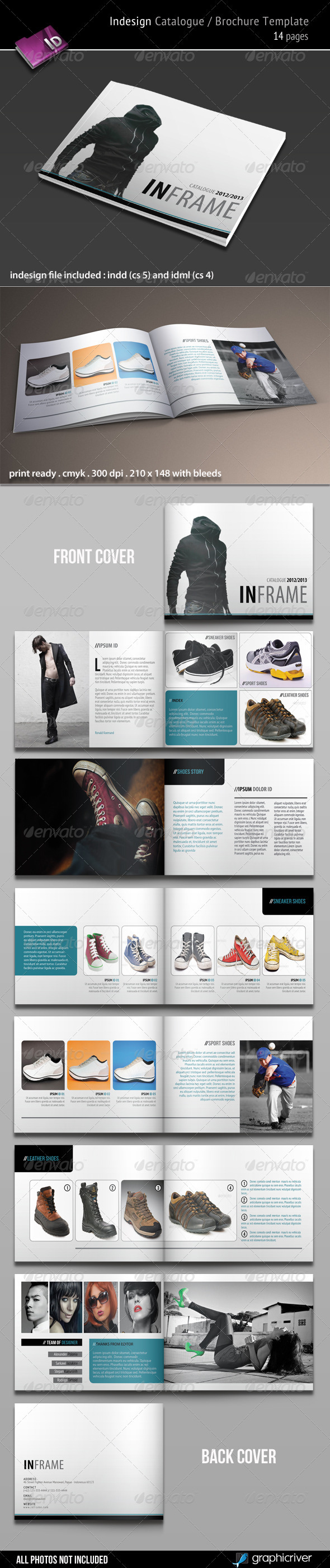 GraphicRiver Indesign Catalogue Brochure Template 3395390