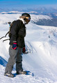Backcountry Freerider on the Brink of a Precipice - PhotoDune Item for Sale