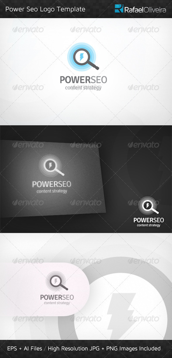 Power SEO Logo Template - Abstract Logo Templates
