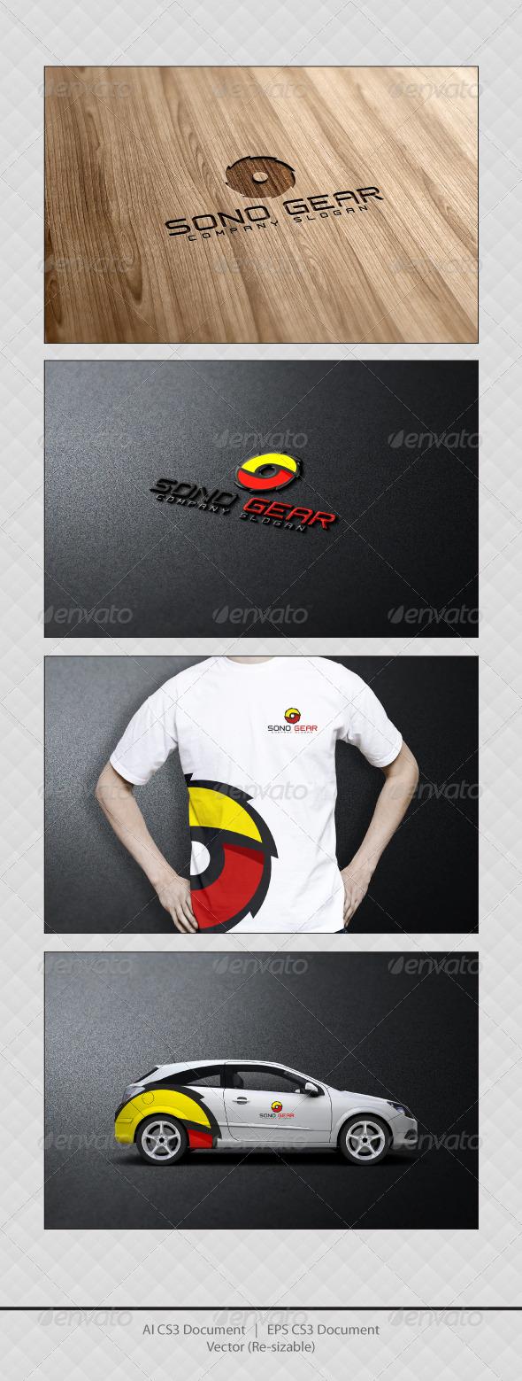 GraphicRiver SONO GEAR Logo Templates 3354273