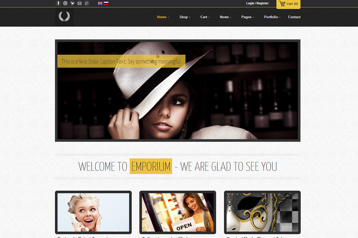 Emporium - Responsive WordPress WooCommerce Theme