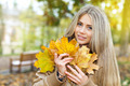 Beautiful woman in autumn - PhotoDune Item for Sale