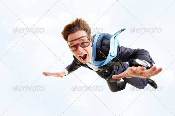 Stock Photo - PhotoDune In flight 366764