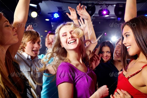 At disco - Stock Photo - Images