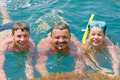 Swimmers - dad and two sons - PhotoDune Item for Sale