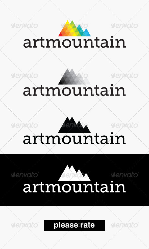 GraphicRiver Artmountain Logo 3402434