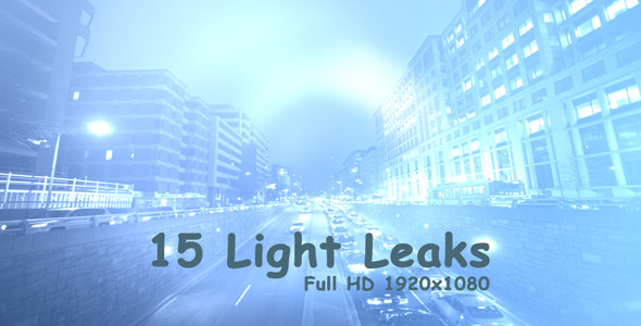 VideoHive Light Leaks 3 15-Pack 3372041